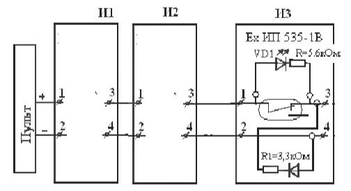 Рис. 7 Схема включения