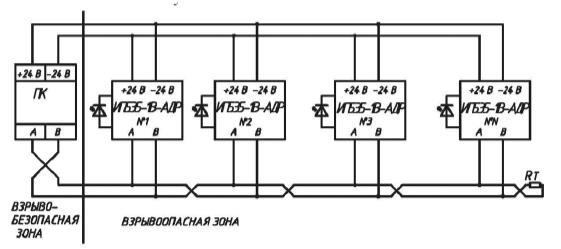 Рис 1. Электрическая схема