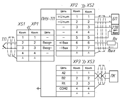 Рис. 3 — Схема включения