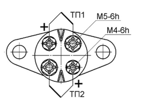 Рисунок 3 - Схема электрическая соединений термопреобразователей.