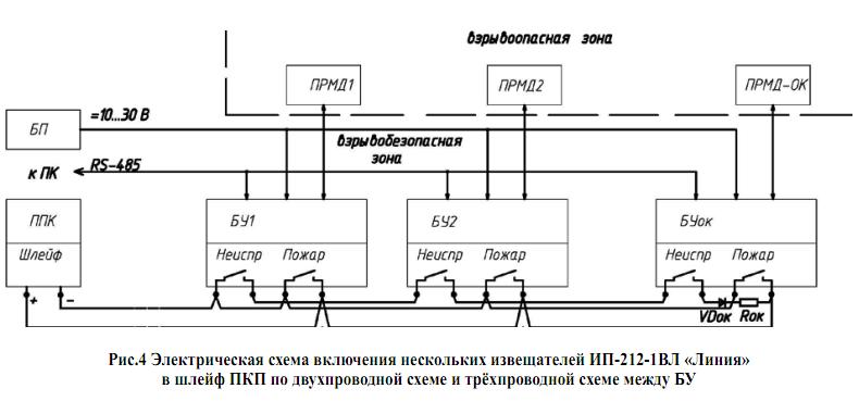 Рис.3 Электрическая схема